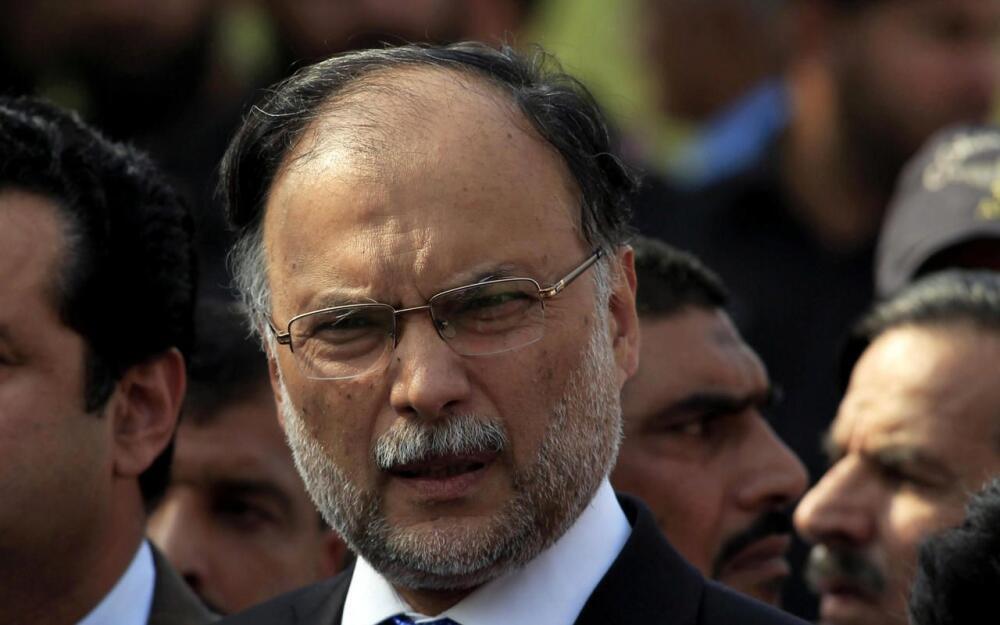巴基斯坦內政部長阿赫桑·伊克巴爾(Ahsan Iqbal ) 政治集會上遭人開槍射傷  已脫離危險 2018年5月6日
