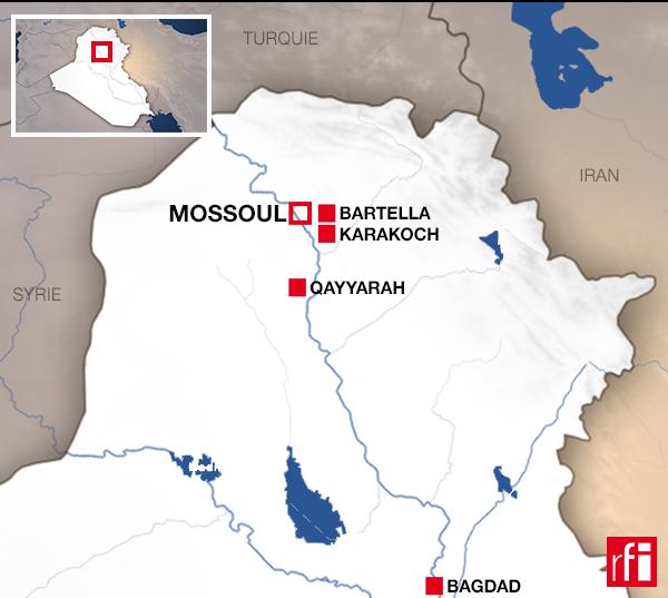 Участники коалиции обсудят будущее иракского города Мосула, битва за освобождение которого от ИГ началась 17 октября