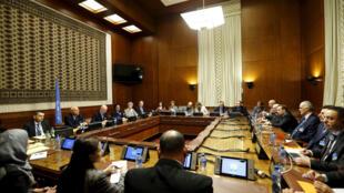 Hoy llegan los representantes de la oposición siria a Ginebra.