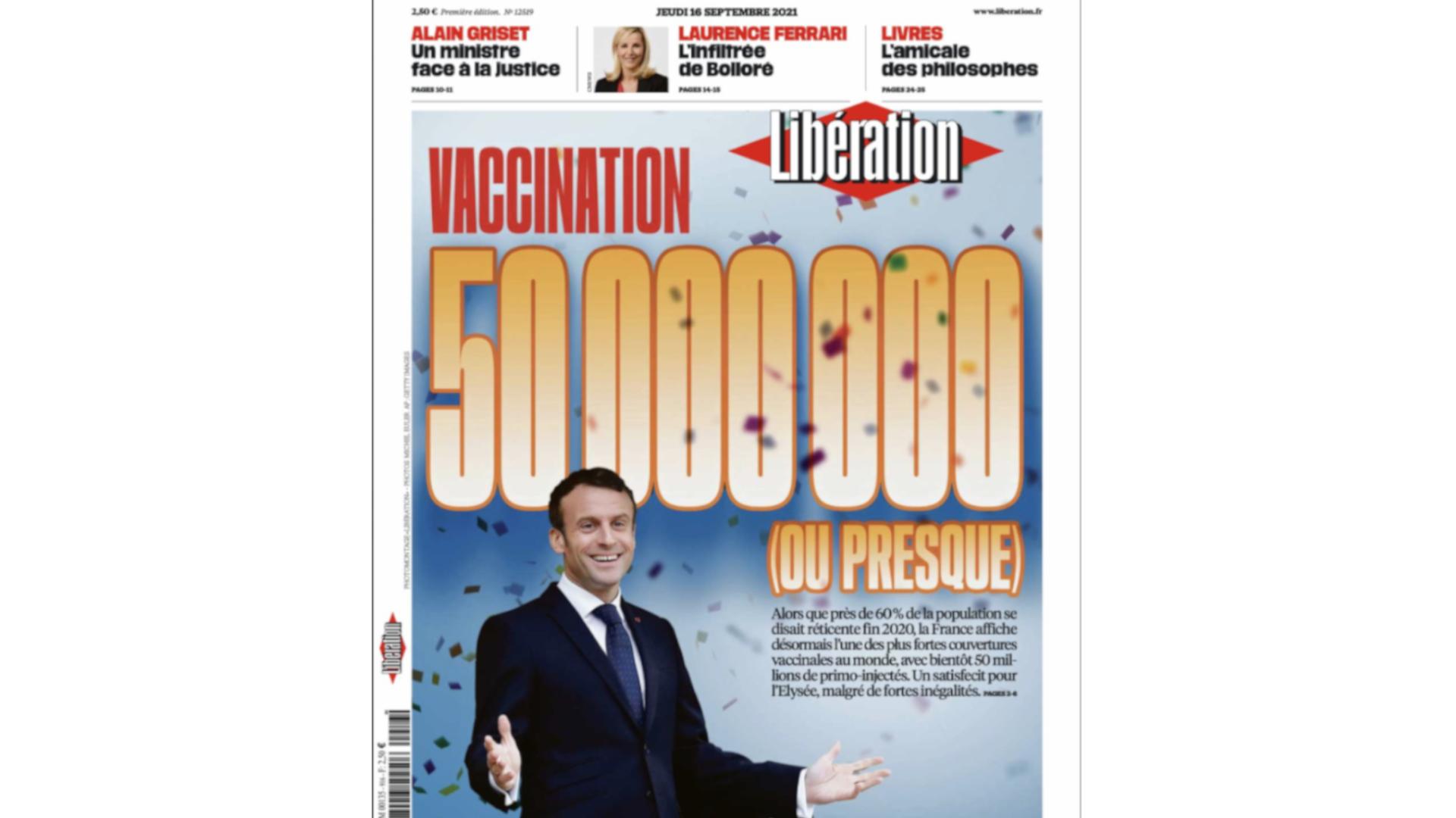 Une journal Libération