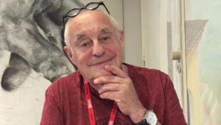 Московский режиссер и драматург, руководитель театра «У Никитских ворот» Марк Розовский. Авиньон, июль 2019