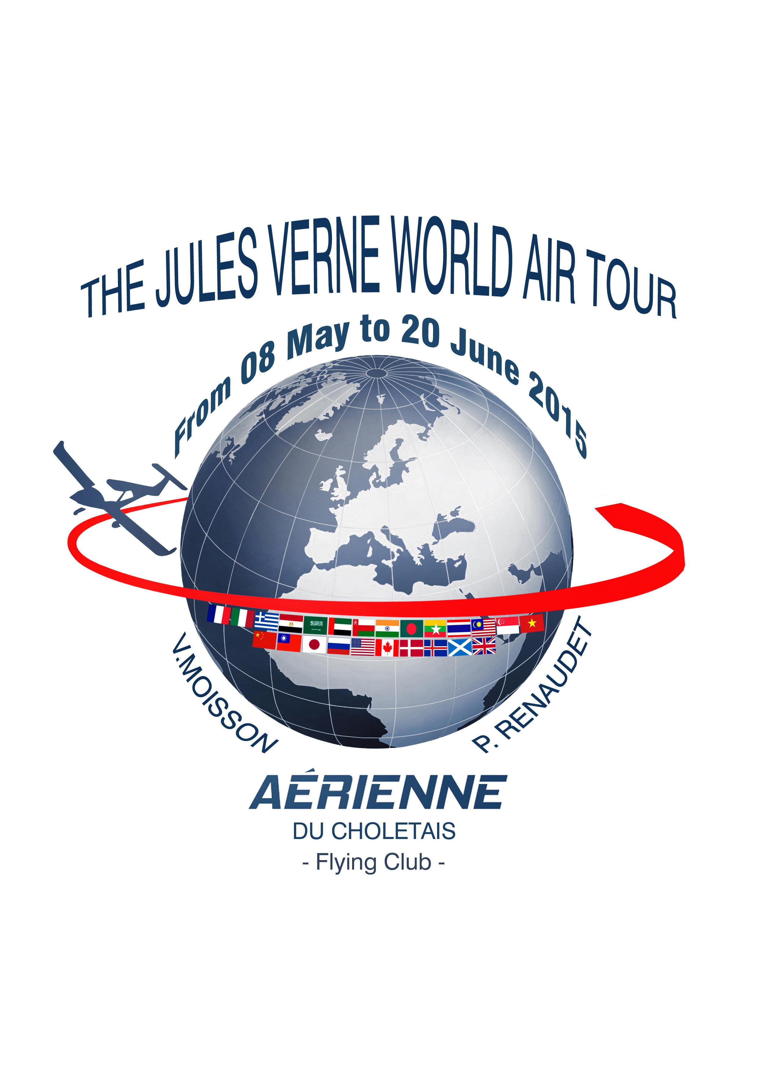 法國紹萊(Cholet)航空的飛行俱樂部的兩名成員將駕駛MCR45 小型飛機探險飛行