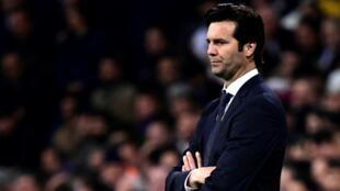 Mai horar da kungiyar Real Madrid Santiago Solari.