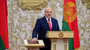 الکساندر لوکاشنکو رئیس جمهوری کنونی بلاروس