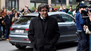 O líder catalão Carles Puigdemont deu uma entrevista coletiva nesta terça-feira em Bruxelas