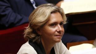 La députée UMP Valérie Pécresse, à l'Assemblée nationale, en septembre 2014.