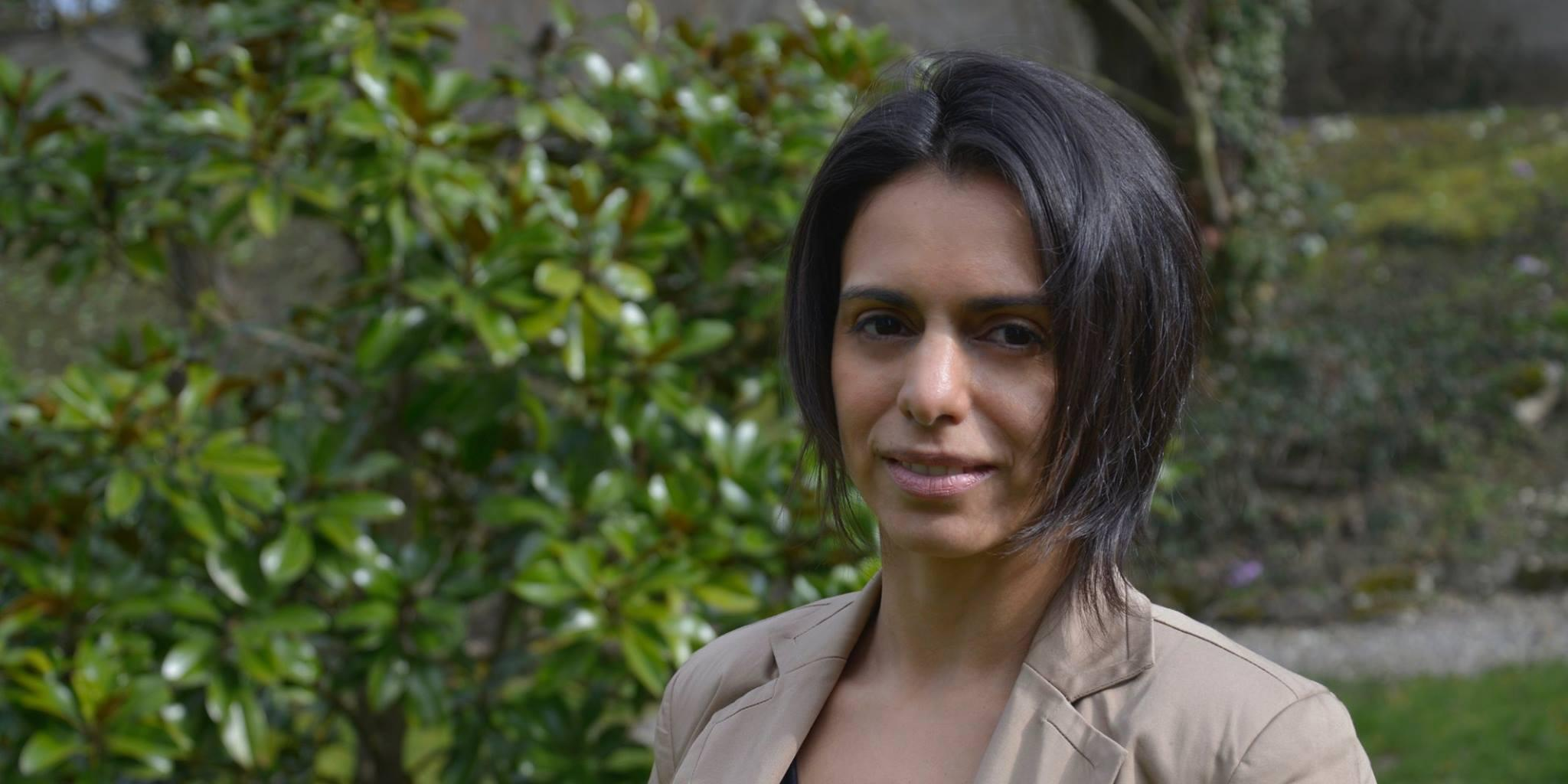 "Andréa Darocha, presidente  do ""Epernay Latin Film Festival"" ."