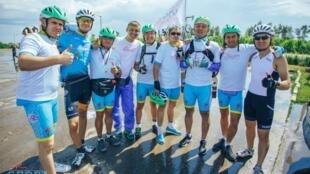 Участникам веломарафона «Астана-Париж» предстоит преодолеть 6000 км
