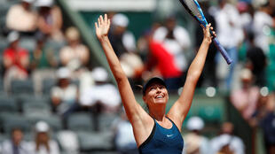 Maria Sharapova is seeking a third French Open title.