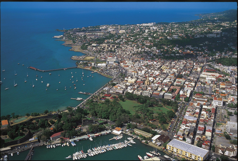 Vue de Fort-de-France, en Martinique.