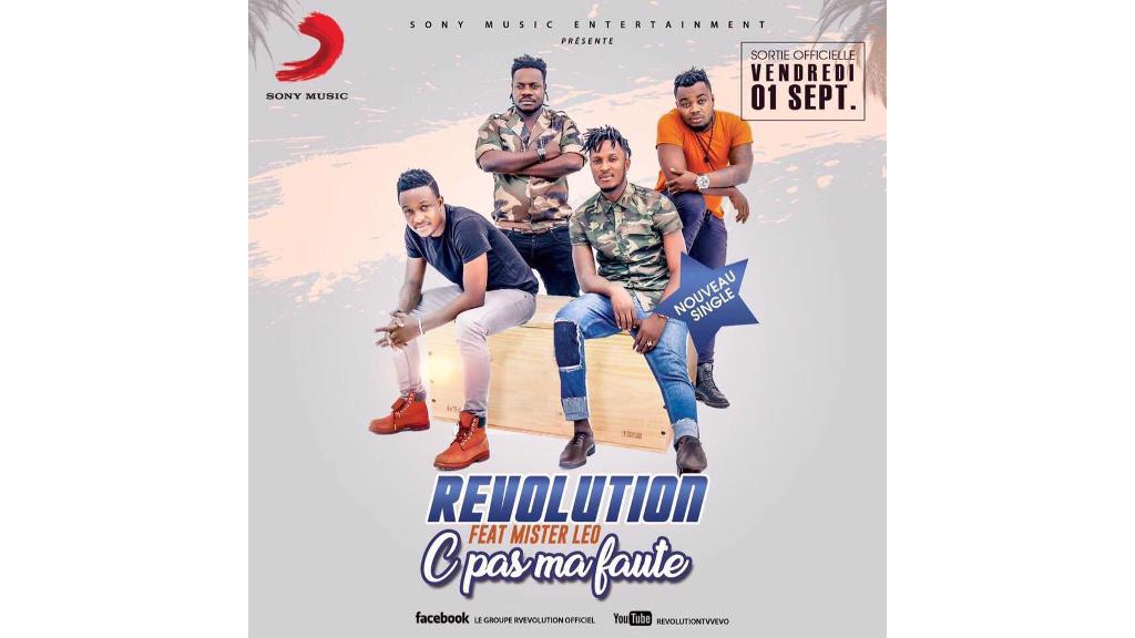 """""""C'est pas ma faute"""", nouvelle chanson du groupe ivoirien Révolution."""