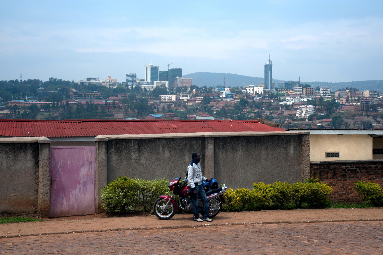 Kigali, la capitale rwandaise, le 18 septembre 2013.