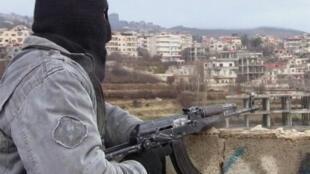 'Yan tawayen Syria da ke fada a Zabadani