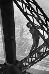 Le Peintre de la tour Eiffel [inédit] Paris, 1953