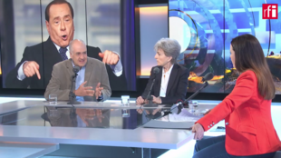 "Un momento del programa ""En Primera Plana""RFI FRANCE 24"