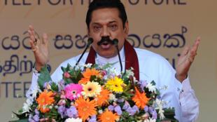 Le président sortant sri-lankais Mahinda Rajapakse espère revenir au pouvoir lors des élections législatives du 17 août.