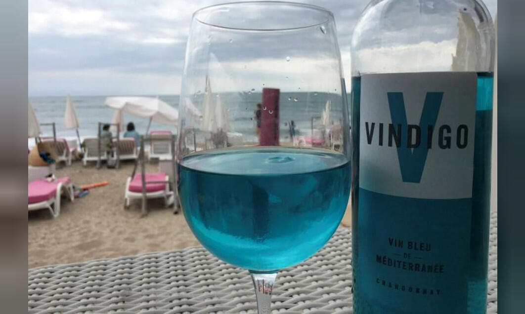 Vindigo is one of two blue wine labels found to contain the synthetic dye E133.