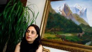L'écrivaine Maha Hassan.