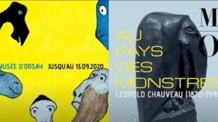 """Museu d'Orsay exposição """"No país dos monstros"""""""
