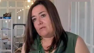 A advogada da família da criança que denunciou o caso, Francesca Satta.