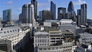 La City, le quartier d'affaires de Londres.