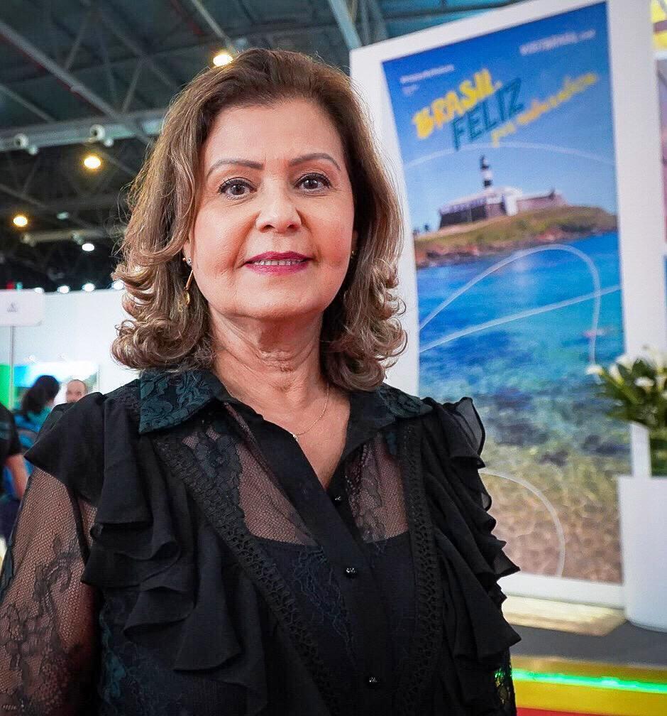 Em Buenos Aires, Teté Bezerra, presidente da Embratur