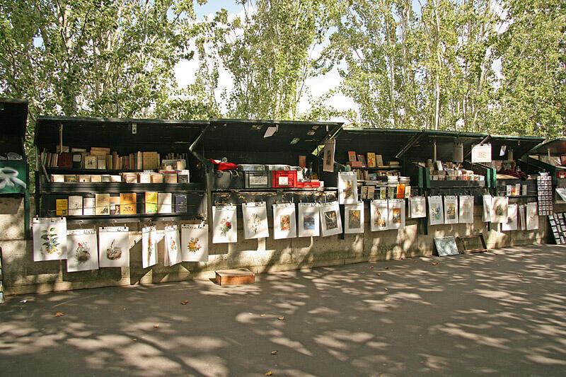 塞納河畔舊書攤