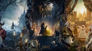 Affiche du film «La Belle et la Bête», de Disney (2017).