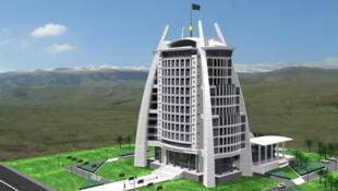 Проект министерства связи Туркменистана.