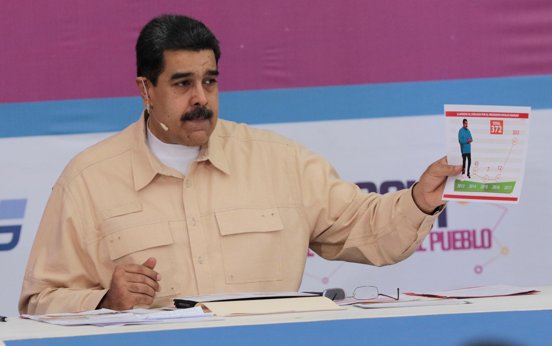 Le président vénézuélien Nicolas Maduro.