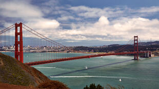 美国加州旧金山金门大桥
