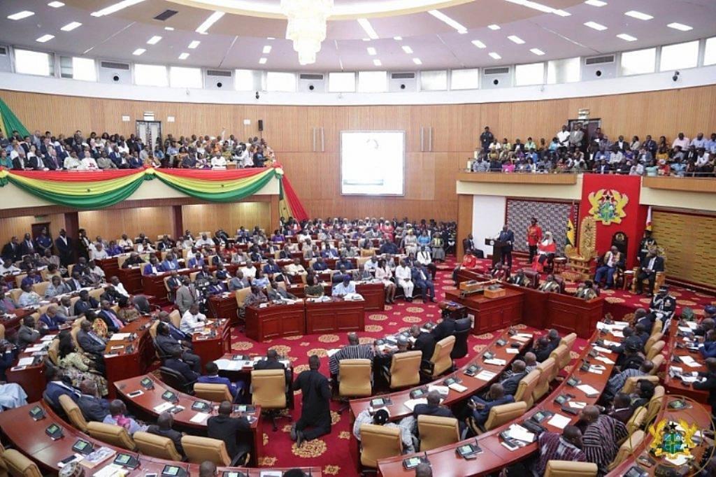 Zauren majalisar dokokin kasar Ghana