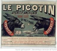Реклама пикотина Бенжамена Рабье, погубившая аперитив Фернана Муро