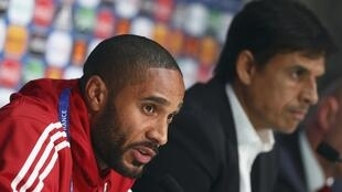 Wales coach Chris Coleman (right) saluted  the courage and resilience of his skipper Ashley Williams (right) on the eve of the last eight match against Belgium..