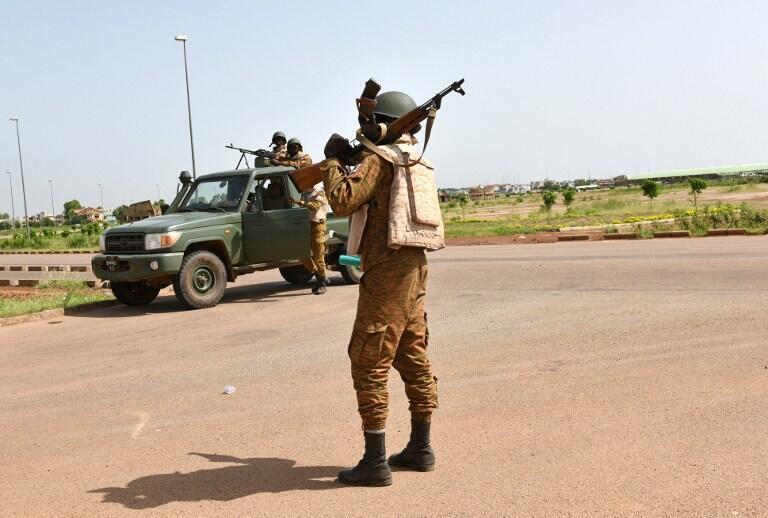 L'armée burkinabè en patrouille le 29 septembre 2015 (Photo d'illustration).