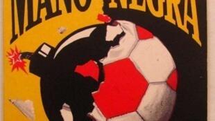 Portada del single Santa Maradona del grupo francés Mano Negra.