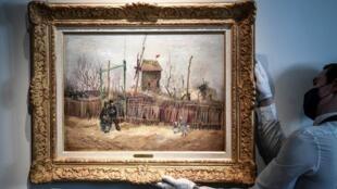 Van Gogh Scènes de rue à Montmartre