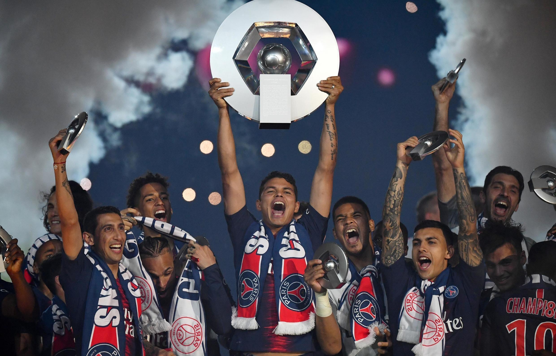 O Paris Saint-Germain sagrou-se Campeão de França pelo terceiro ano consecutivo.