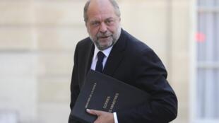 Éric Dupond-Moretti, ministre français de la Justice.