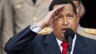 Shagaban kasar Venezuela Hugo Chavez