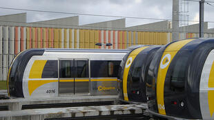 Linha Amarela do metrô de São Paulo.