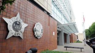 存档图片:美国芝加哥警察