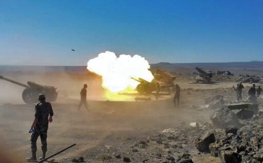 L'armée du régime syrien a entamé il y a trois mois une offensive contre les combattants de l'EI dans la province méridionale de Soueida (illustration).