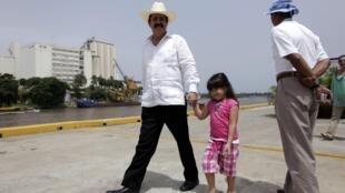 Manuel Zelaya  in exile