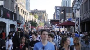 Au Québec, face au coronavirus, la communauté chinoise s'organise (image d'illustration).