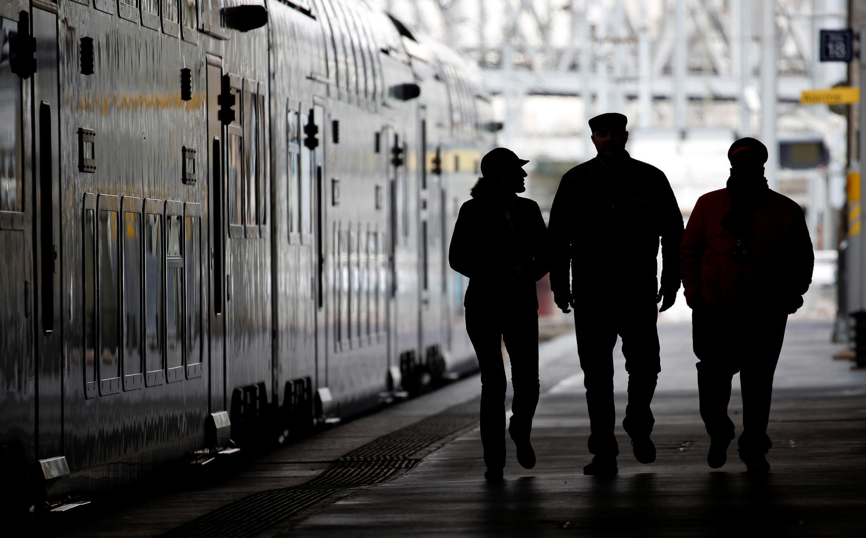Северный вокзал Парижа. 21 марта 2018 г.