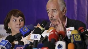 El expresidente colombiano Andrés Pastrana.