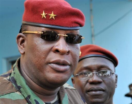 Guinea's interim leader Sekouba Konaté