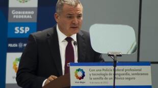 El exsecretario de Seguridad Pública de México, Genaro García Luna, aquí en 2012 en Ciudad de México.