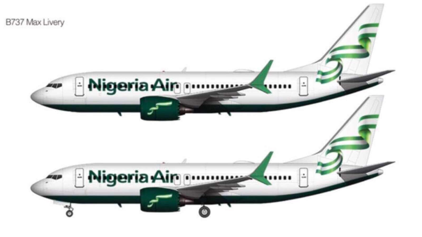 Samfurin Jirgin Nigeria Air da aka dakatar